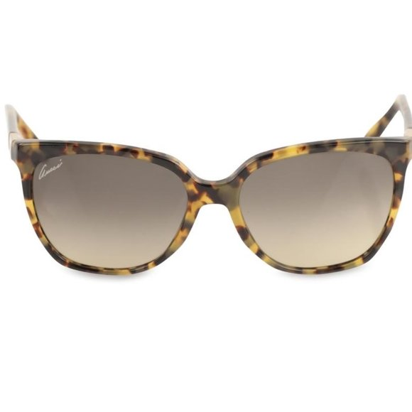 Gucci GG 3502/s Brown Tortoise Shell Sunglasses